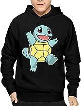 Men Squirtle Pokemon Tiny Turtle Hooded Hoodies Printed Sweatshirts