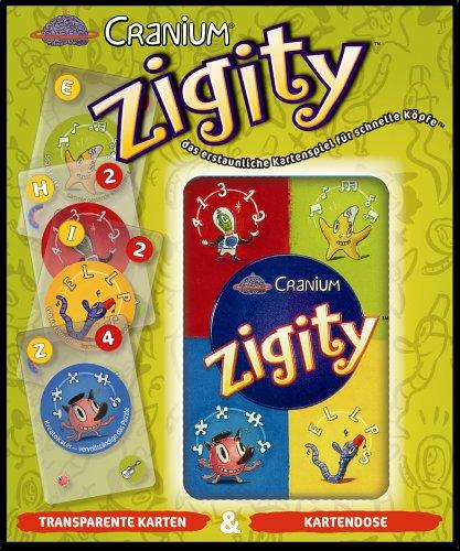 Cranium Zigity, für 2 oder mehr Spieler ab 8 Jahren
