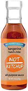 Tangerine Hatch Chile Paleo BBQ Sauce (13 oz Bottle)
