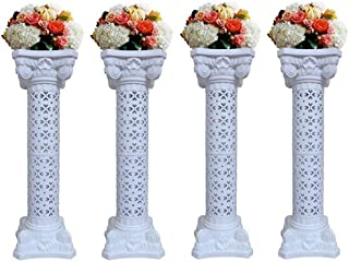 Wedding Columns Wedding Pillars Columns Stand for Weddings Party Decoration Adjustable Height Roman Pillars Wedding Decorations(40