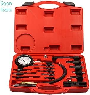 Soontrans Kit de Herramientas para Comprobar la compresión de Motores diésel,medidor de presión del Cilindro diésel (TDI y CDI)