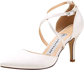 Best cream satin bridal shoes Reviews