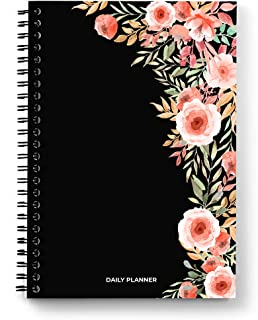 Scribpal - Undated Daily planner and journal; Organiser diary to manage your task, to do list, meetings, calls and your we...