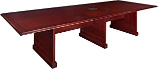 Regency Prestige 144-Inch Modular Conference Table with Power Data Grommets, Mahogany