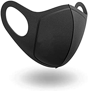 Reusable Face mask, Washable and face covering with breathable comfort loops. Unisex medium size - 99% Super protection.