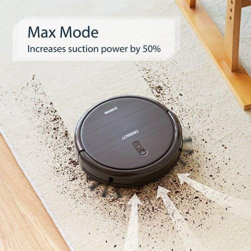 ECOVACS DEEBOT N79S Robotic Vacuum Cleaner, Automatic, for Low-Pile Carpet, Hard Floor, Cleaning Robot, WiFi Connected