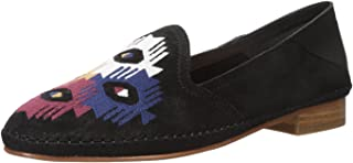 Women's Embroidered Venetian Loafer Flat