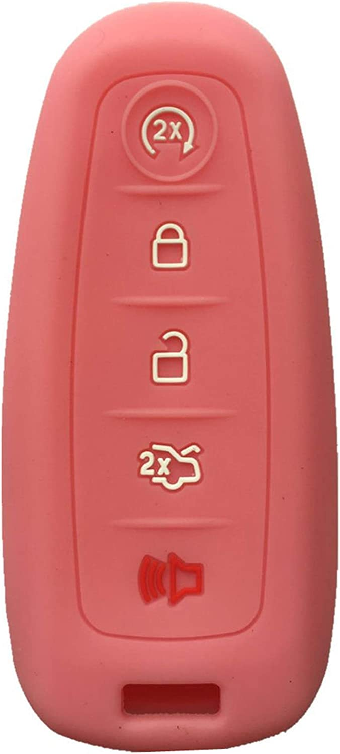 KAWIHEN Silicone Key Fob Outstanding Cover Compatible E Edge Ford Super Special SALE held C-Max with