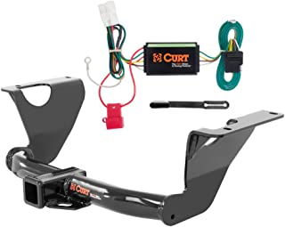 CURT Class 3 Trailer Hitch Bundle with Wiring for 2014-2016 Subaru Outback - 13206 & 56040