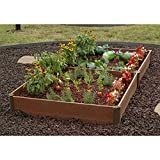 Greenland Gardener Raised Bed Garden Kit - 42' x 84' x 8'