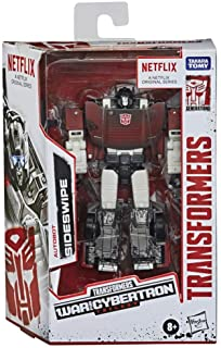 Transformers Toys Generations War for Cybertron Trilogy Series-Inspired Deluxe Sideswipe Action Figure - Ages 8 and Up, 5....