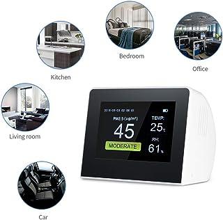 JUZEN Monitor de Calidad del Aire Detector de Gas para Interiores/Exteriores Analizador de Gas