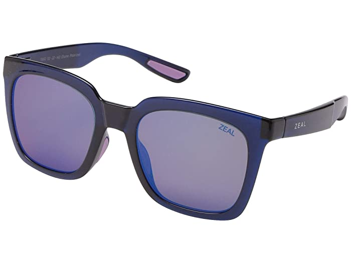Zeal Optics  Cleo (Ocean/Polarized Horizon Blue Lens) Fashion Sunglasses