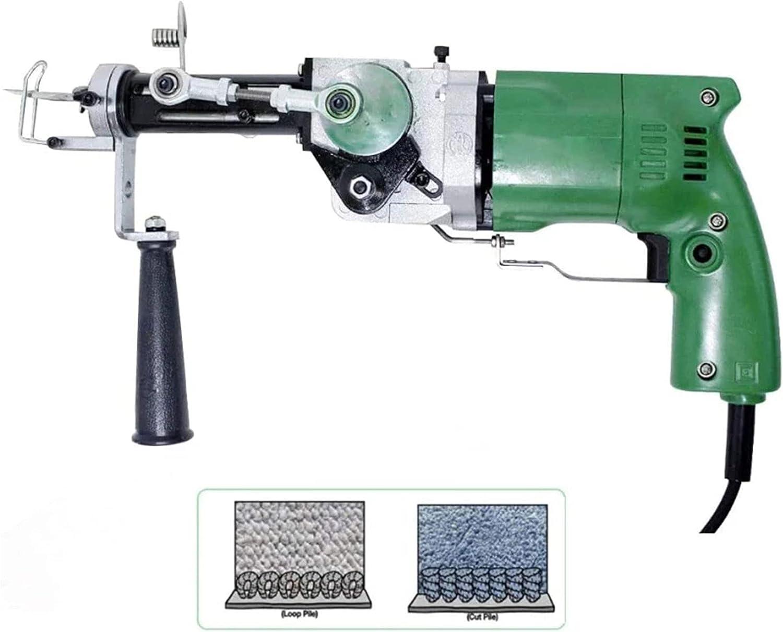 La Pistola De Mechones De Alfombras Eléctrica Dos En Uno Se Utiliza para Cortar El Pelo Y El Pelo De Bucle con La Máquina De Flocado De Tejido De Alfombras, Máquina De Bordado Industrial