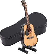 Mini Guitar Model Miniature Guitar Model, Display Ornaments Guitar Model with Guitar Stand Guitar Model Decor, Great Home ...