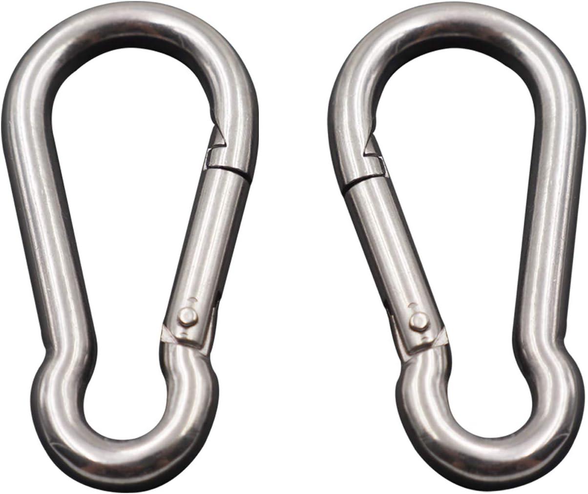 4 Pieces Hoomuda /M8 Super Heavy Duty Stainless Steel 316 Hook to Hook/Turnbuckle 4 PC M8 Hook to Hook