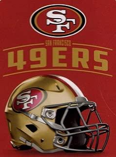 Northwest NFL San Francisco 49ers Throw Plush Blanket