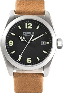 German Military Titanium Fieldwatch GPW. Automatic Movement. 200M W/R. Domed Sapphire Crystal.