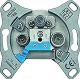 Jultec JAD307TRS 3-Loch Sat-Enddose | 7 dB Anschlussdämpfung | DC-Durchlass -