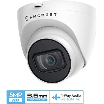 Amcrest 4MP Security Camera System, w/ 4K 8CH PoE NVR, (8) x 4MP 2.8mm Wide Angle Lens Weatherproof Metal Bullet & Dome POE IP Cameras, Pre-Installed 2TB HDD, NV4108E-1026EB4-1028EB4-2TB (Black)