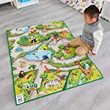 Liberty House Toys- Multi-Coloured Children's 3Duplay Activity Play Mat Zoo Alfombra Interactiva 3D, Multicolor (657027)