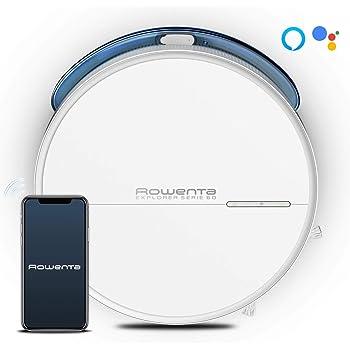 Rowenta Explorer Serie 60 Allergy Care Connect RR7447 - Robot Aspirador fregasuelos, conectado con 3 modos navegación, Wifi, Alexa y Google Assistant: Amazon.es: Hogar