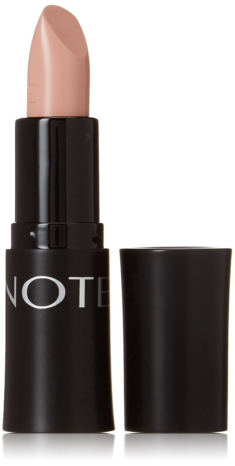 抑圧する収まるかまどNOTE Cosmetics ウルトラリッチ色の口紅、0.16オンス 第01