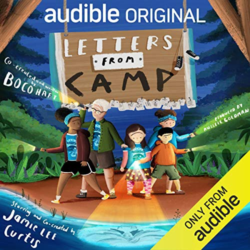 Letters From Camp Audiobook By Jamie Lee Curtis cover art