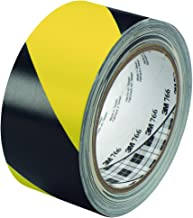 3M T9677662PK Striped Vinyl Tape, 2