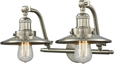 2 Light Vintage Dimmable Led Bathroom Fixture