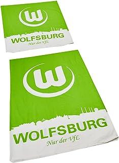 VfL Wolfsburg Bettwäsche Skyline
