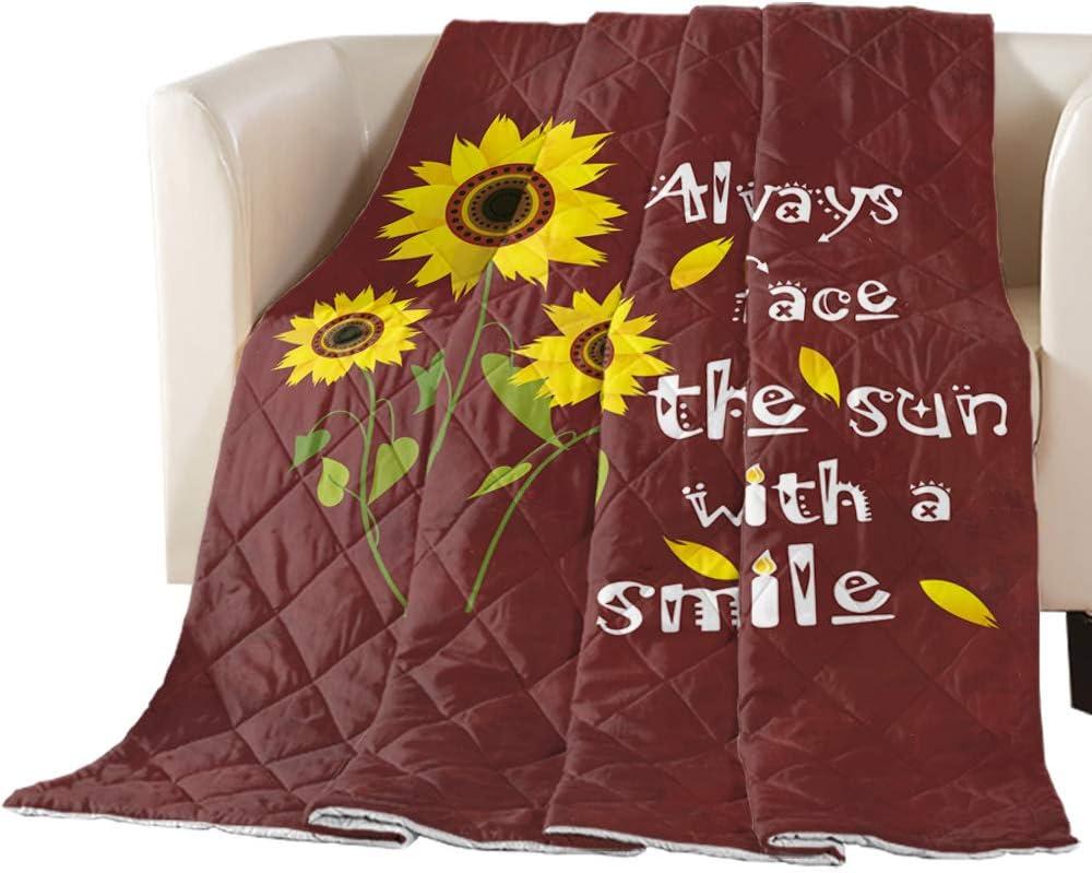 Max 42% OFF Comforter Duvet Insert Sale SALE% OFF Home Quilt- Face Always Sunflower Farm Th