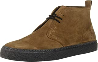 Fred Perry Men's Hawley Suede Sneaker, Tobacco, 7 D UK (8 US)