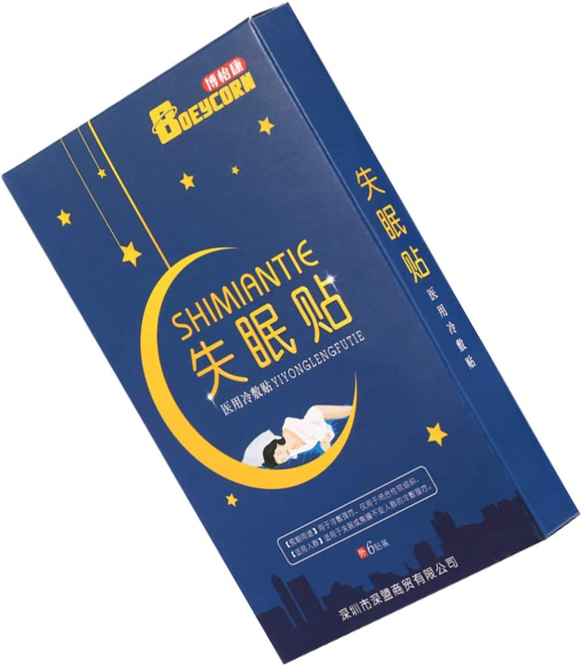 HEALLILY 6Pcs Sleeping Patches Adults Imp Better Sleep Patch Max 58% sold out OFF for