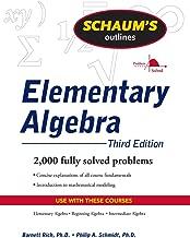 Best schaum's outline algebra Reviews