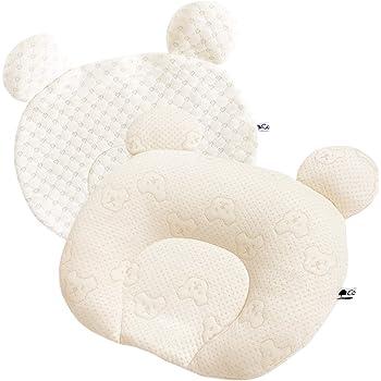 Coperta (コペルタ) baby pillow ベビー枕 ベビー まくら ベビーまくら 【替えカバー付き 天然素材100% 新生児〜12ヶ月向け】