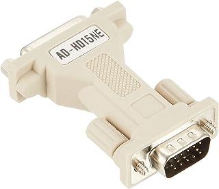 サンワサプライ モニタ変換アダプター(DB15)HD15 PC AD-HD15NE