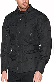 Bikers Gear Australia New Waterproof Infinity All Season Comfort Jacket Removable Thermal Liner Vented with CE1621-1 Armou...
