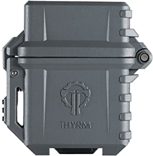 Thyrm PyroVault Lighter Armor, Compatible with Zippo Inserts (Urban Grey)