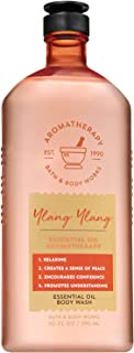 Bath and Body Works Aromatherapy YLANG YLANG Essential Oil Body Wash 10 Fluid Ounce