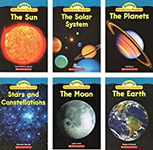 Scholastic Science Vocabulary Readers - Space Books Set (6 Books) for Grades 1-2: The Earth, The Sun, The Moon, The Planets, The Solar System, Stars and Constellations