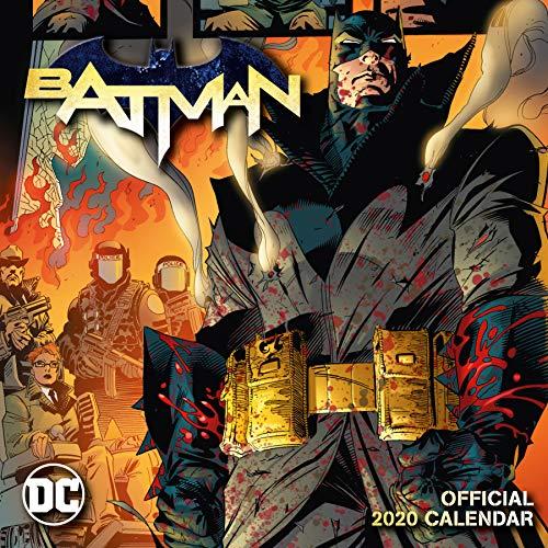 Batman Comics 2020 Calendar - Official Square Wall Format Ca