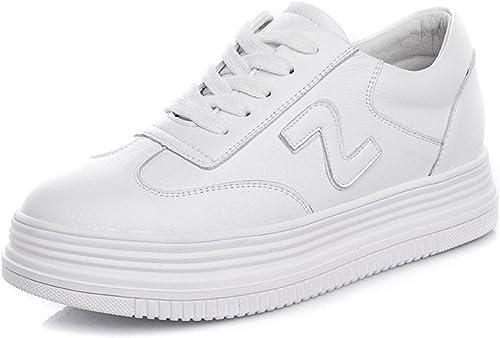 HBDLH-Chaussures pour Femmes Au Printemps des Chaussures Blanches Les Femmes Les Chaussures Les Chaussures Les Chaussures.Trente - Neuf blanc