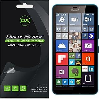 [6-Pack] Dmax Armor- Microsoft Lumia 640 XL Anti-Glare & Anti-Fingerprint (Matte) Screen Protector - Lifetime Replacements...