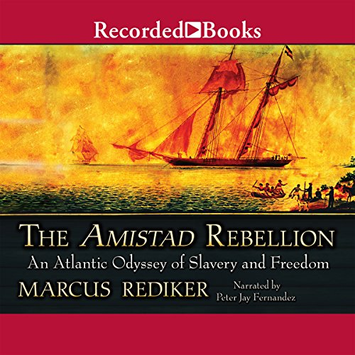 The Amistad Rebellion audiobook cover art