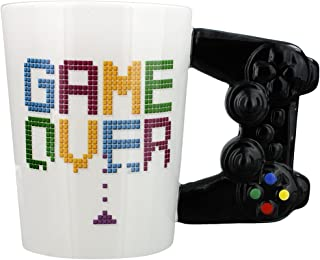Puckator Game Controller Handle Mug Games Game Over Gaming Mug Console Remote