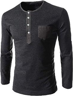 1d30db514 Amazon.es: HX fashion - Camisetas de manga larga / Camisetas, polos ...