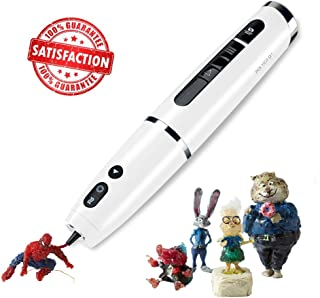 Future Make Polyes Q1 World's First 3D Printing Pen with Cool Ink, No Hot Parts, No Wires, Inbuilt Battery, Easy to Use, Safe for Children, Building, Crafting, Prototyping, Skills Development (White)