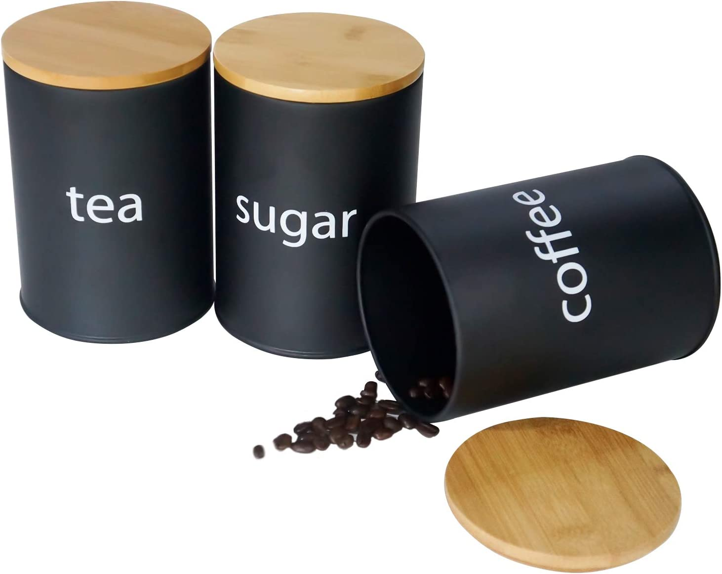 SOTECH Metal Food Storage Super Special SALE held Jar Ai Limited price with Farmhouse Coffee Canisters