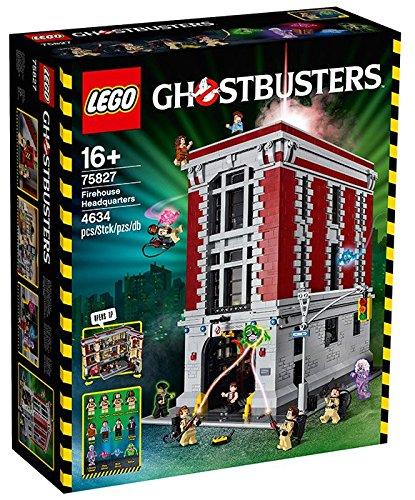 Lego Ghostbusters Caserma Dei Bomberos de Fuego para construcción de pequeños Juegos para niña, Colores Variados, 75827